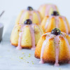 Mandelkager med citron og amarena kirsebær