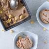 Hasselnøddeis med mælkechokolade