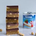 Karamel snitter med Nestlé kondenseret mælk