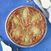 Pæretærte med mandelmasse og chokolade