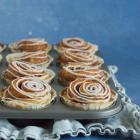 Kanelsnegle muffins med et twist af appelsin