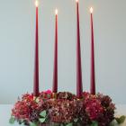 Årets adventskrans og julestemning i det lille hjem