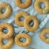 Vaniljekranse - rustikke vaniljekranse med ristede mandler