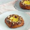 Spandauer med remonce, hjemmelavet vaniljecreme og chokolade