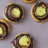 Kanelsnegle med vaniljecreme