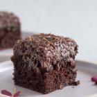 Den du ved nok - lækker chokoladekage med kokosglasur