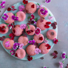 Kransekage med nougat og bærsukker