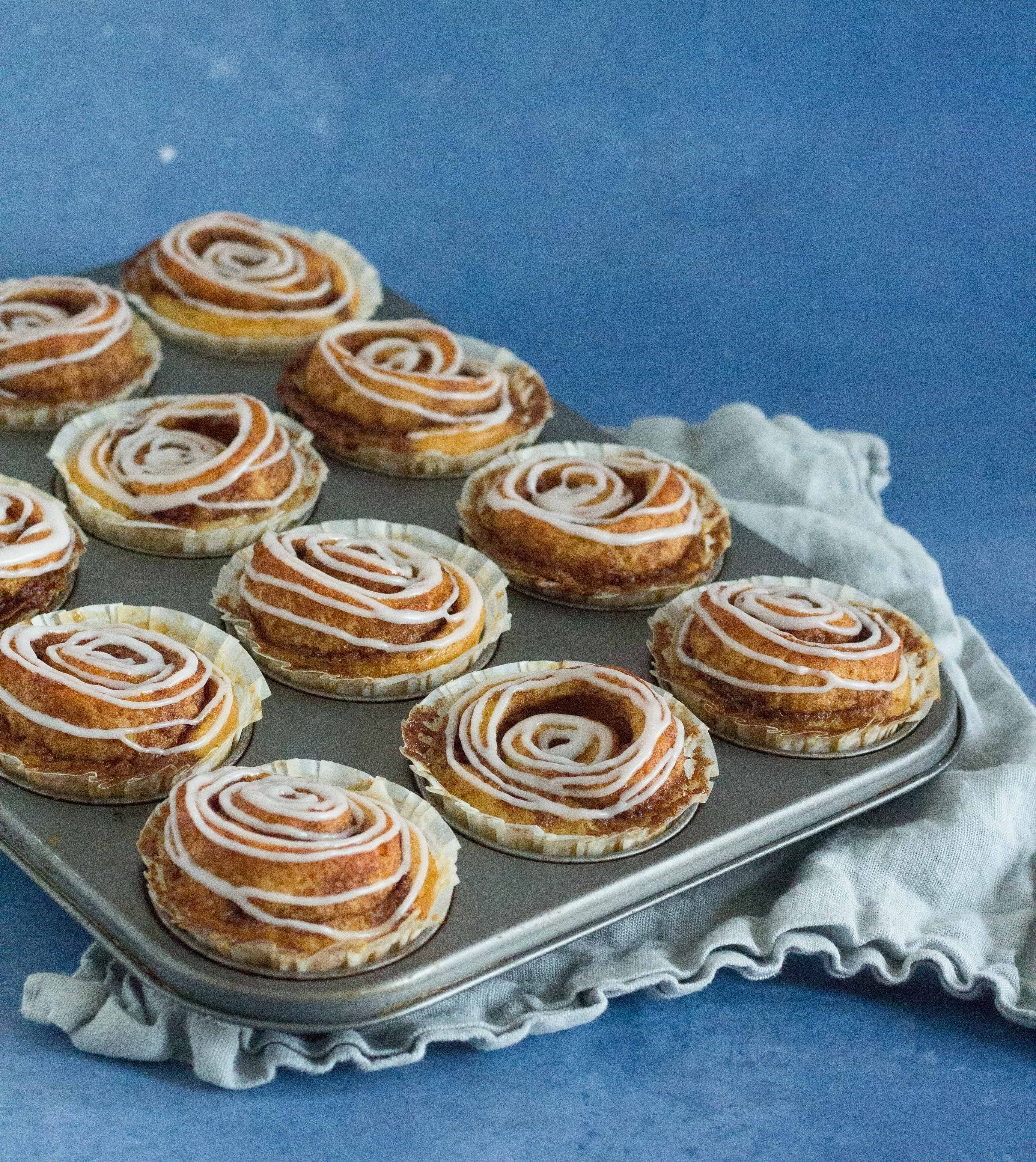 kanelsnegle muffins