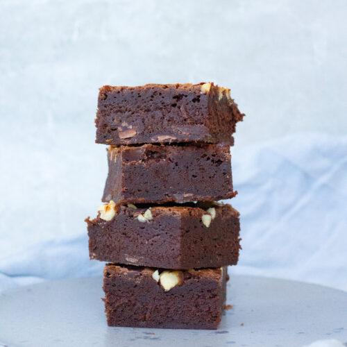 nougat brownie