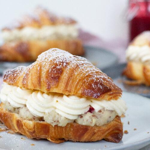 croissant semlor med mandelcreme